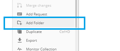 postman-collection-add-folders