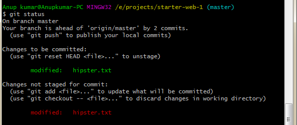 EF-second-git-status