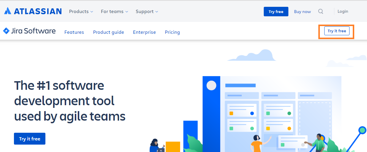 Jira-software-try-free