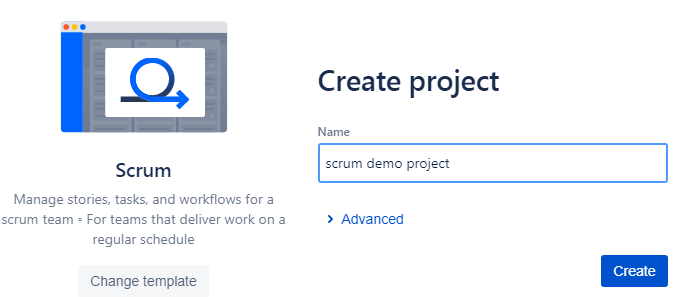 Scrum-demo-project