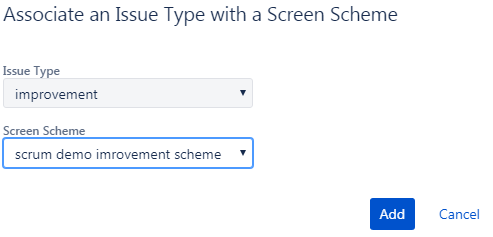 associate-an-issue-type-with-a screen-scheme