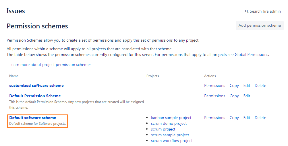 newly-created-permission-scheme