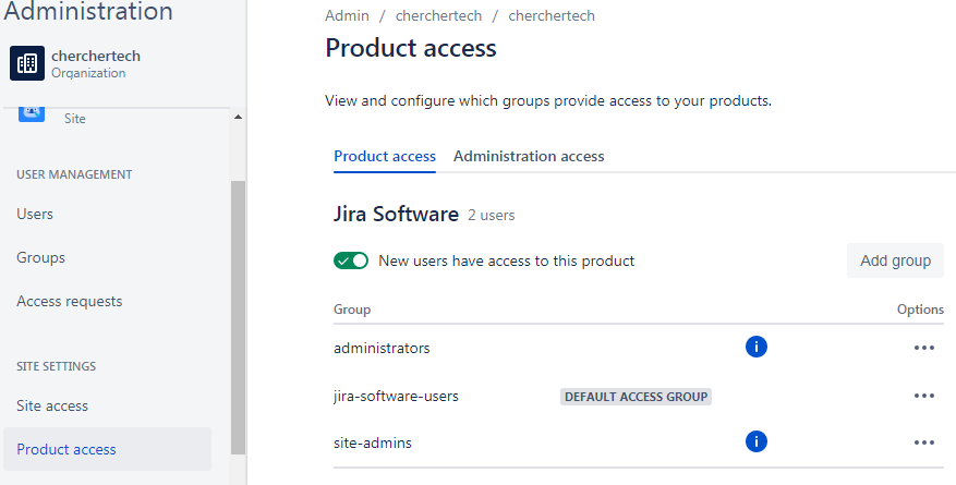 product-access