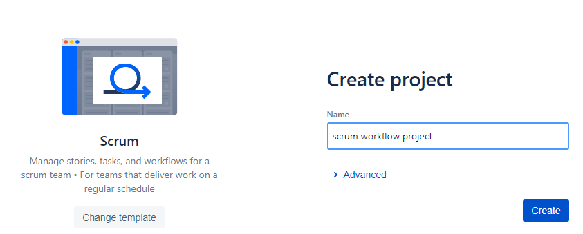 scrum-workflow-project