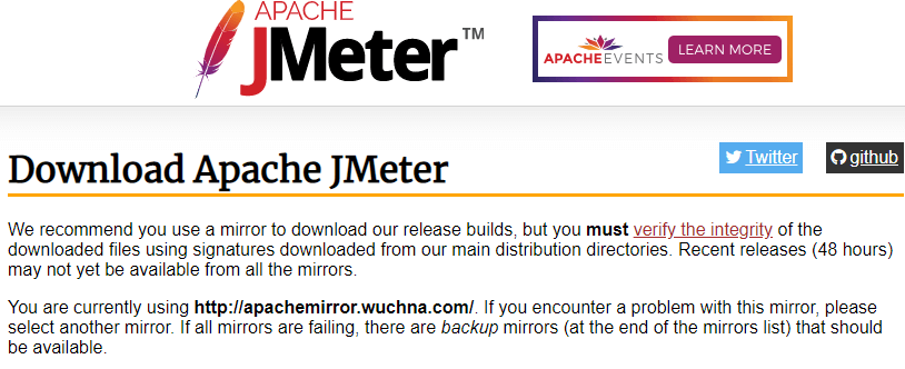 download-apache-jmeter-page-in bwoser