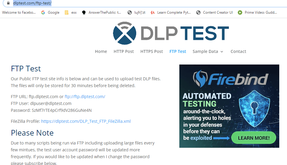ftp-test-website-jmeter