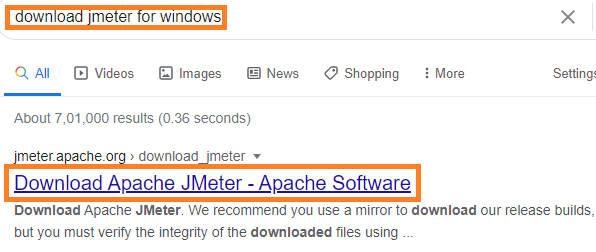 search-for-jmeter-in-google-chrome