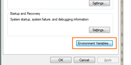 click-on-envrn-variable
