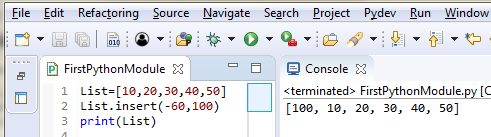 Python List Datatypes