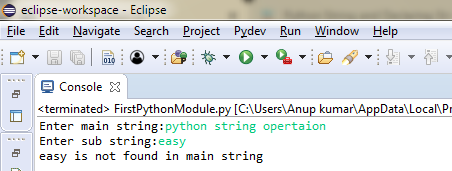 output-of-python-string-operation