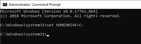 set-homedrive-c