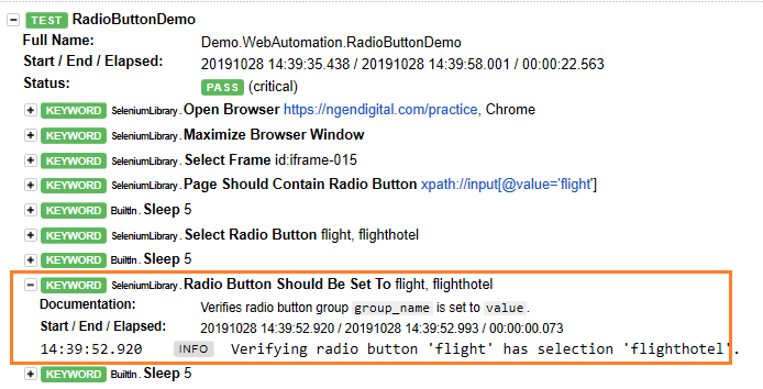test-report-for-radio-button-robot-framework