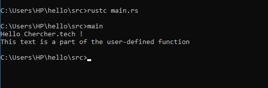 rust-function-execution