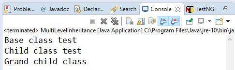 multilevel-inheritance-java