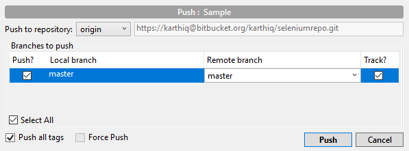 push-selenium-sourcetree-bitbucket