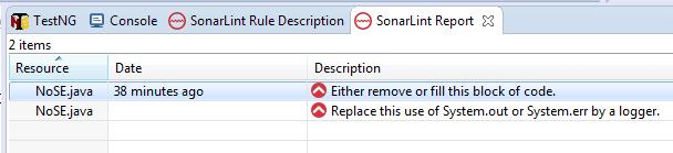 SonarLint / SonarQube With Selenium