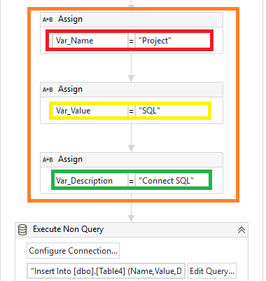 add-assign-activity-bfr-non-query-rpa-uipath