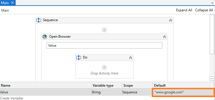 add-url-to-variable-rpa-uipath