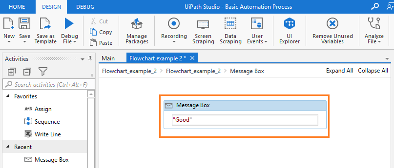 message-box-with-good-rpa-uipath