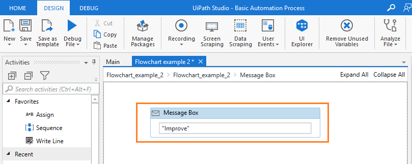 message-box-with-improve-rpa-uipath