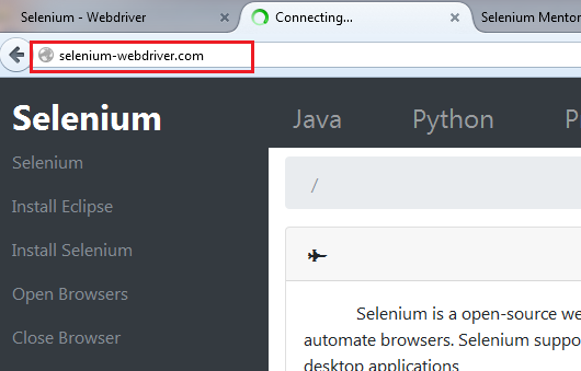 Get Title : URL : Page Source in Selenium